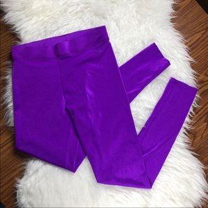 Victoria's Secret Pink Purple Leggings Athletic